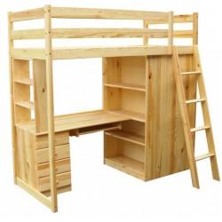 Łóżko Piętrowe Biurko Regał...