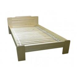 BEATA łóżko 200x200cm sosnowe