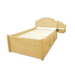 SONIA łóżko 120x200cm sosnowe