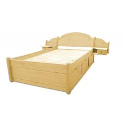 SONIA łóżko 200x200cm sosnowe