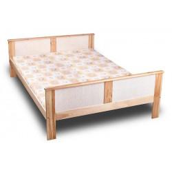 łóżko rattanowe stelaż...
